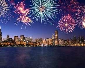 Chicago fireworks Chicago Glasnik
