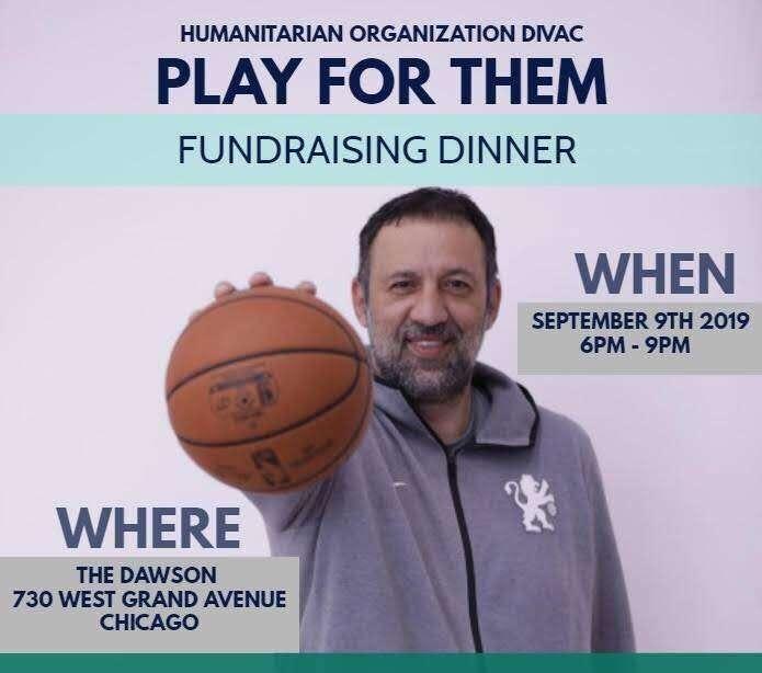 Dođite na donatorsko veče Vlade Divca u Čikagu!