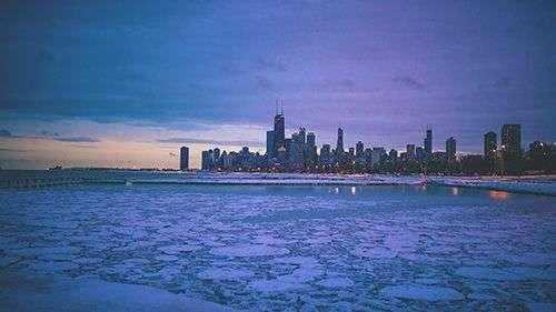 chicago glasnik oblacni dani u cikagu