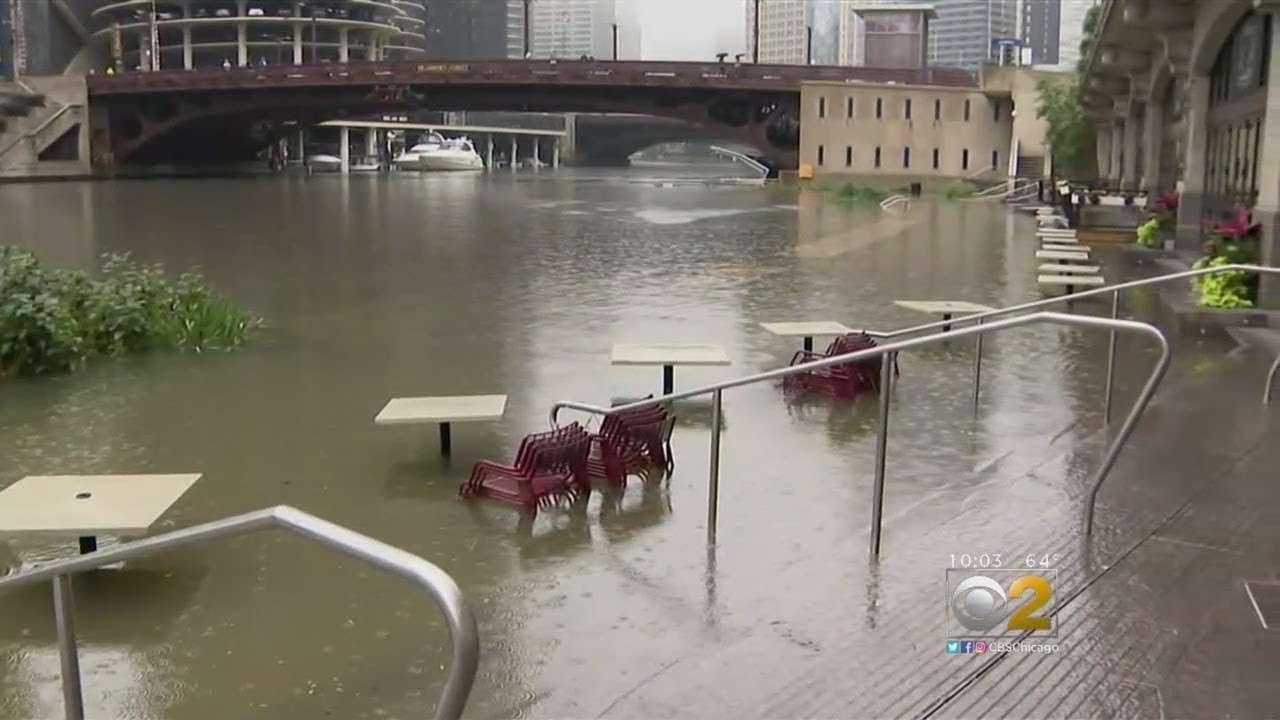 Rekordne padavine u Čikagu izazvale velike poplave, Willis Tower ostao bez struje