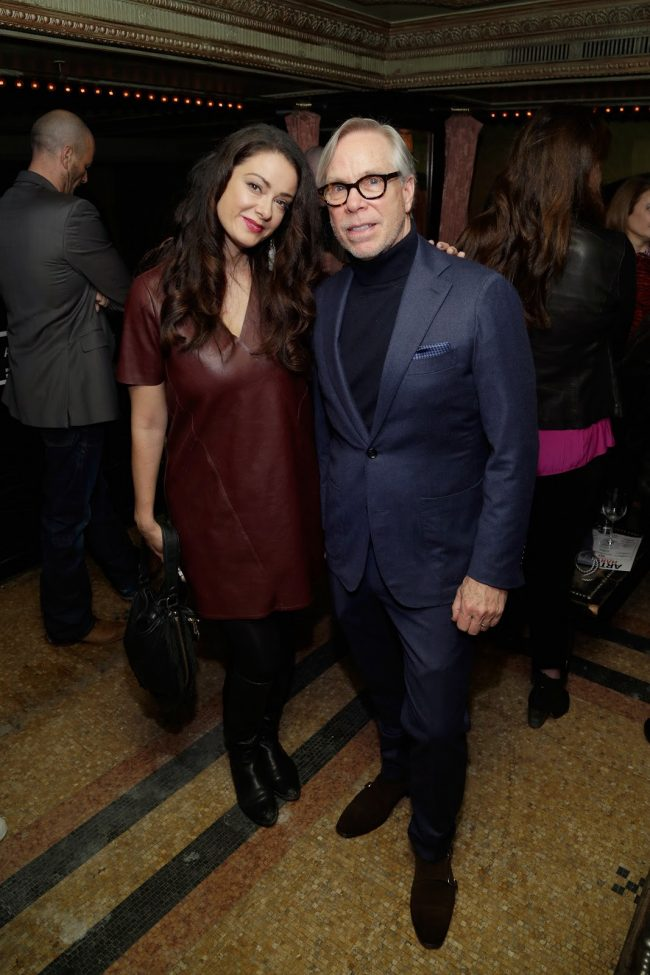 Tijana sa cuvenim dizajnerom i vlasnikom kompanije Tomijem Hilfigerom Chicago Glasnik