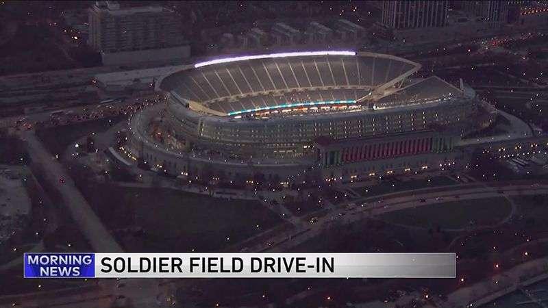 "Soldier Field postaje najveći ""drive-in"" bioskop u Čikagu"