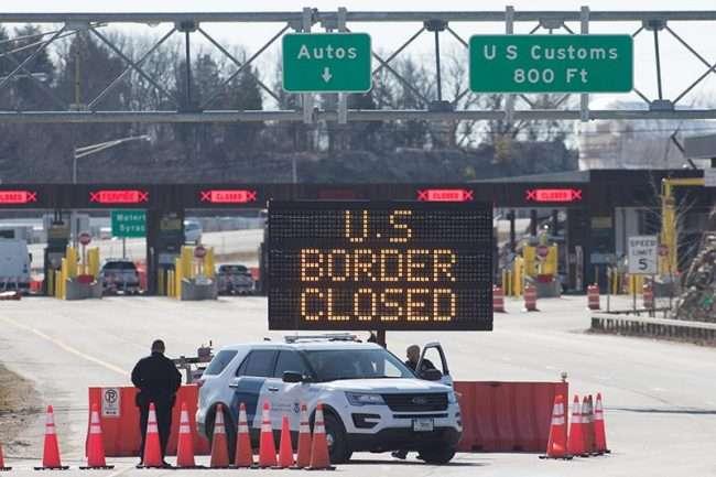 zatvorena granica sa kanadom chicago glasnik