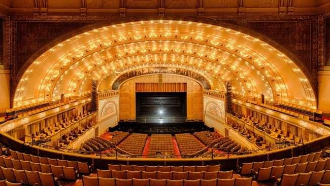 Pogled u unutrašnjost jednog od najstarijih teatara u Americi