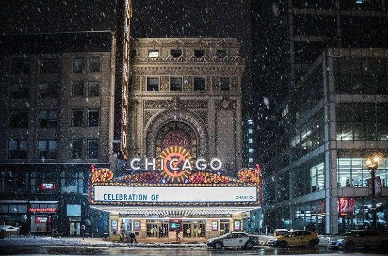 Pao prvi sneg u Čikagu. Kasne letovi sa  aerodroma O' Hare