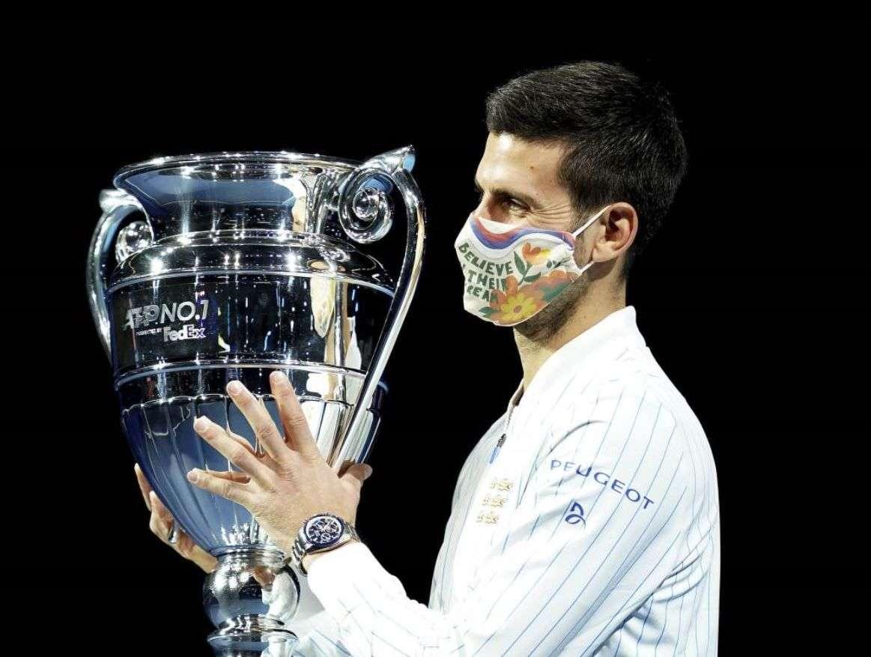Novak Đoković završio godinu kao najbolji teniser sveta