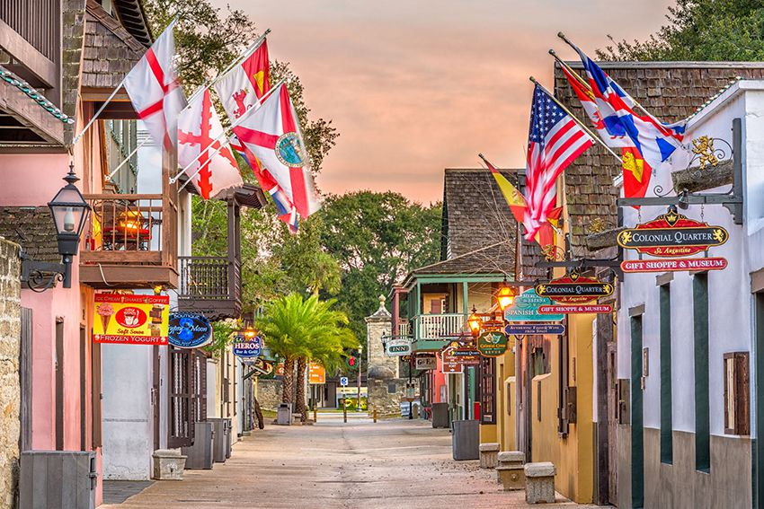 10 najstarijih gradova u Americi