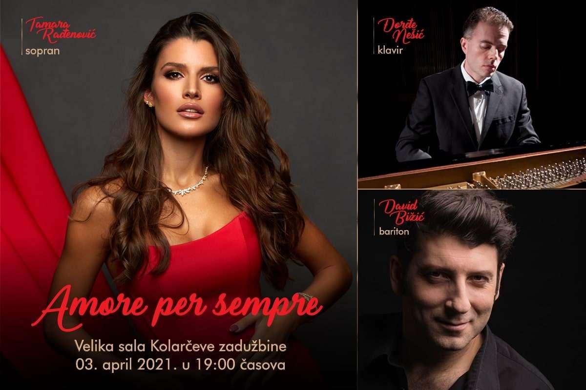 Koncert Amore Per Sempre, Beograd, Njujork, London