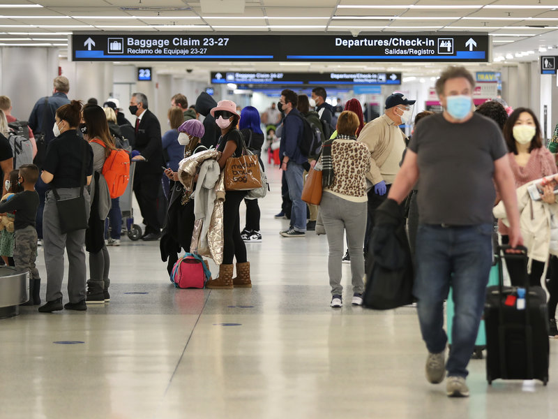 Promene pri putovanju za putnike koji su potpuno vakcinisani u Americi